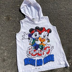 Other - Vintage Mickey and Minnie Huge Graphic T-Shirt